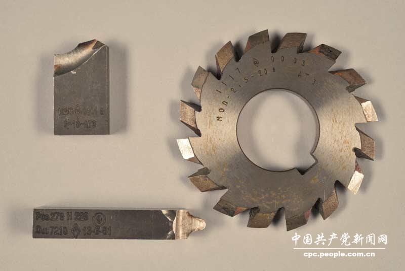 邓榕赠法国雷诺汽车厂送的钳工刀具(当年邓小平同志在雷诺高清图片