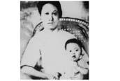 赵一曼与儿子的唯一合影