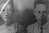阮啸仙与彭湃(左)的合影。