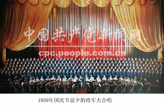 1959年国庆10周年阅兵:林彪惟一一次任阅兵首长