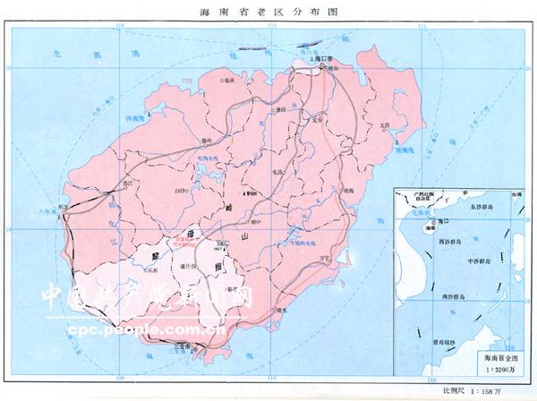 海南岛地图定安