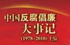 中国反腐倡廉大事记:记录中国30多年反腐倡廉重大历史事件!